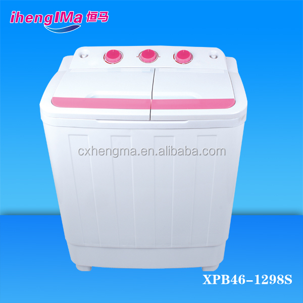 4 6kg Portable Mini Double Tub Baby Clothes Washer With