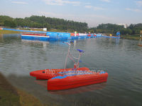 Stainless Water Bicycles/ Whale water bicycles /water padel boat