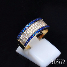 New designs Two tone plated 925 sterling silver jewelry manufacturer