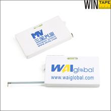 2 mts herramienta de agrmensor mini cinta metrica carpintería con nivel de agua