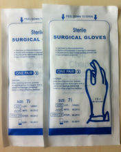 Medical supply dental made in china hospital products Textured AQL1.5 Sterile Latex Surgical Gloves