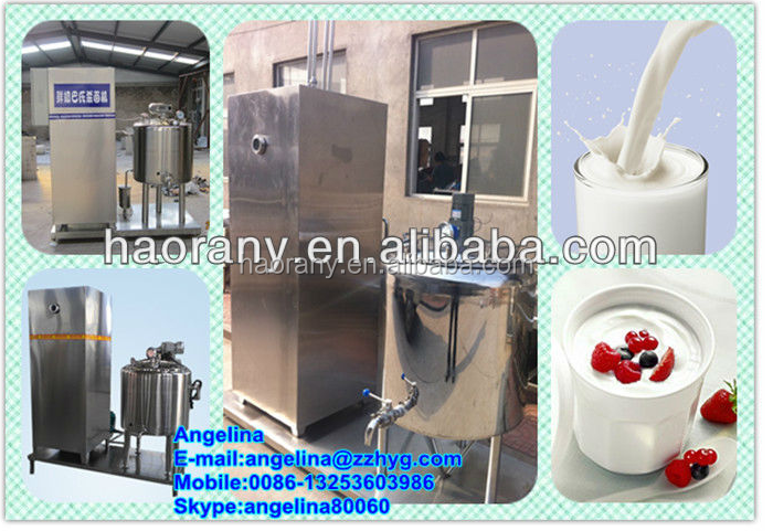 Stainless steel fruit pasteurization machine/cow milk pasteurizer