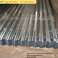 Used galvanized corrugated sheet corrugated pvc roofing sheet for selling