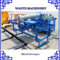 WANTE MACHINERY QT10-15 hollow block machine in myanmar made from China factory