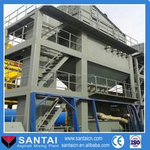 Mini plant mobile asphalt for sale Marini asphalt plant LB2500 200TPH china manufacture
