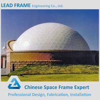 Prefab Large Span Galvanized Dome House Steel Truss