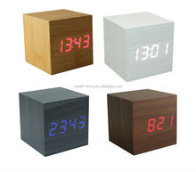 Voice control alarm clock S714 meet CE and Rohs best for gift