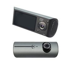HD 1080p R300/x3000 dash cam dual camera car dvr gps 2CH dvr camera