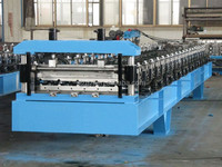 various new durable steel tile roll forming machine / steel plate rolling machine