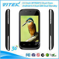 China Supplier 3.5 inch Dual SIM 3G Android 4.4 Low Price Chinese Mobile