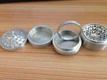 Wholesale 2015 TOP Quality CNC 63 Diamter 6 Pieces 4 Parts Large Dry Herb Drinder With Replaceable Screen And Magnetic Cove