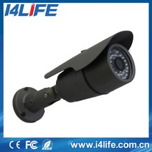 p2p waterproof ip network camera, POE outdoor IR CUT bullet hd 1.3mp ip camera