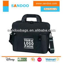 """Paded shoulder bag, 15.6"""" cute laptop messenger bag"""