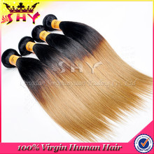 100% Unprocessed no tangle and shedding virgin guangzhou hair extension factory