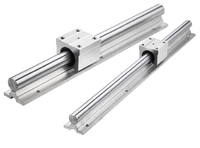short-time supplier sbr30uu round linear guide rail 30MM cylindric guide linear motion sliding support for antenna actuator