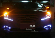 Hot sale car parts for hyundai sonata led daytime running light