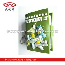 Biscuit Shape pvc chocolate notebook