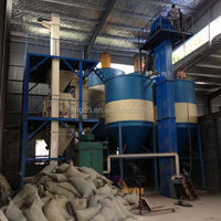 Latest Chinese product CE certificate turn key solution automatic large tower dry mortar mix production line supplier