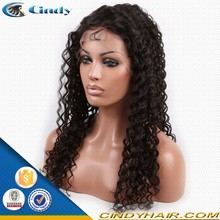 wholesale large cap virgin brazilian 100 human hair afro kinky curly lace front wigs
