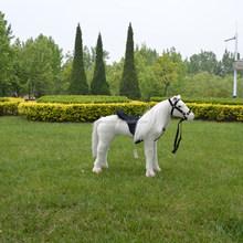 cina fabbrica diretta peluche cavallo bianco giocattolo per i bambini