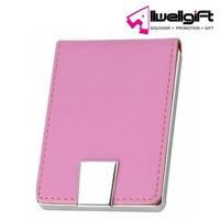 lovely custom design pink name card case/holder for lady