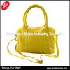 Durable Yellow PU Duffle Travel Bag