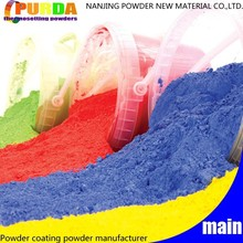 Standard Color Thermosetting Exterior Polyester Powder Paint