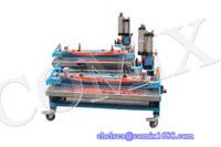 2015 ComiX 1000mm v finger belt making machine