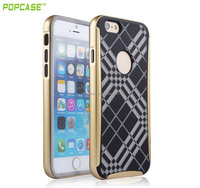 PC bumper with silicone case for iphone 6