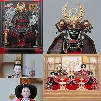 Handmade japanese traditional ornament Hina Ningyo/Gogatsu Ningyo Doll for celebrations , Japanese goods also available