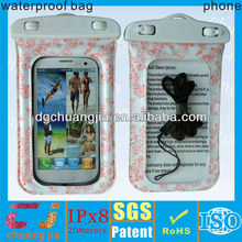 for cell phone wholesale waterproof bag Dongguan manufacturer