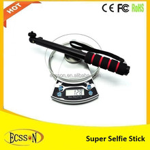 Hot sale monopod selfie stick with bluetooth remote shutter for phone