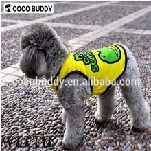 Factory Pet supplies dog clothes Cartoon plain T-shirt in Wholesale price