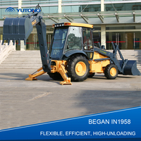 YUTONG Effcient 4x4 Compact Tractor With Loader And Backhoe