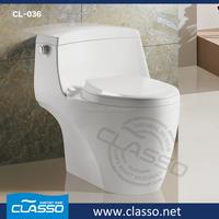 Chaozhou sanitary ware toilet modern desing blue ceramic toilet