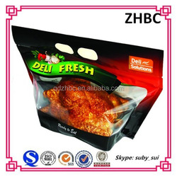 Roasted chicken Plastic bag for food packing
