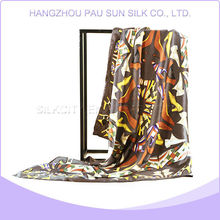 Factory sale various widely used silk and cashmere scarf