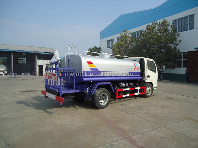 2015 prix usine 5000l porteur d 39 eau camion dongfeng for Camion citerne eau remplissage piscine
