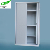 Roller shutter door metal file cabinet/office furniture steel filing metal file cabinet/ KD tambour door metal file cabinet