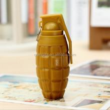 Grenade shape promotional telescopic ballpoint pen with custom logo