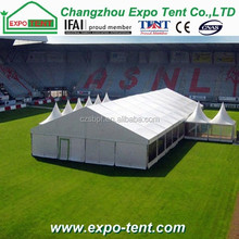 Outdoor manufacture tent for event