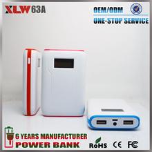 External Portable Smart Power Bank 10400mah