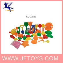DIY play sand with 39pcs moulds magic sand toy bring endless fun for children