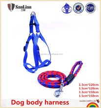 With OEM/ODM available nylon dog rope leash chain pet harness for dogs