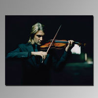 High quality super clear 3D canvas print picture man playing the violin