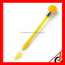 2015 hot selling Personalized Branded Flashing Bulb Pen