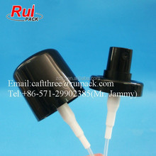 31.5mm plastic crimp on sprayer, PP snap perfume spray pump