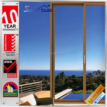 Australia AS2047 standard antique aluminum wood windows for sale