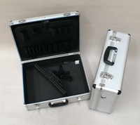 lightweight hard tool carrying case storage box aluminum briefcase tool case