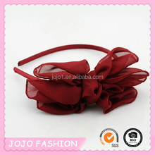 2015 new arrival factory direct tiara bowknot hair band for little girls